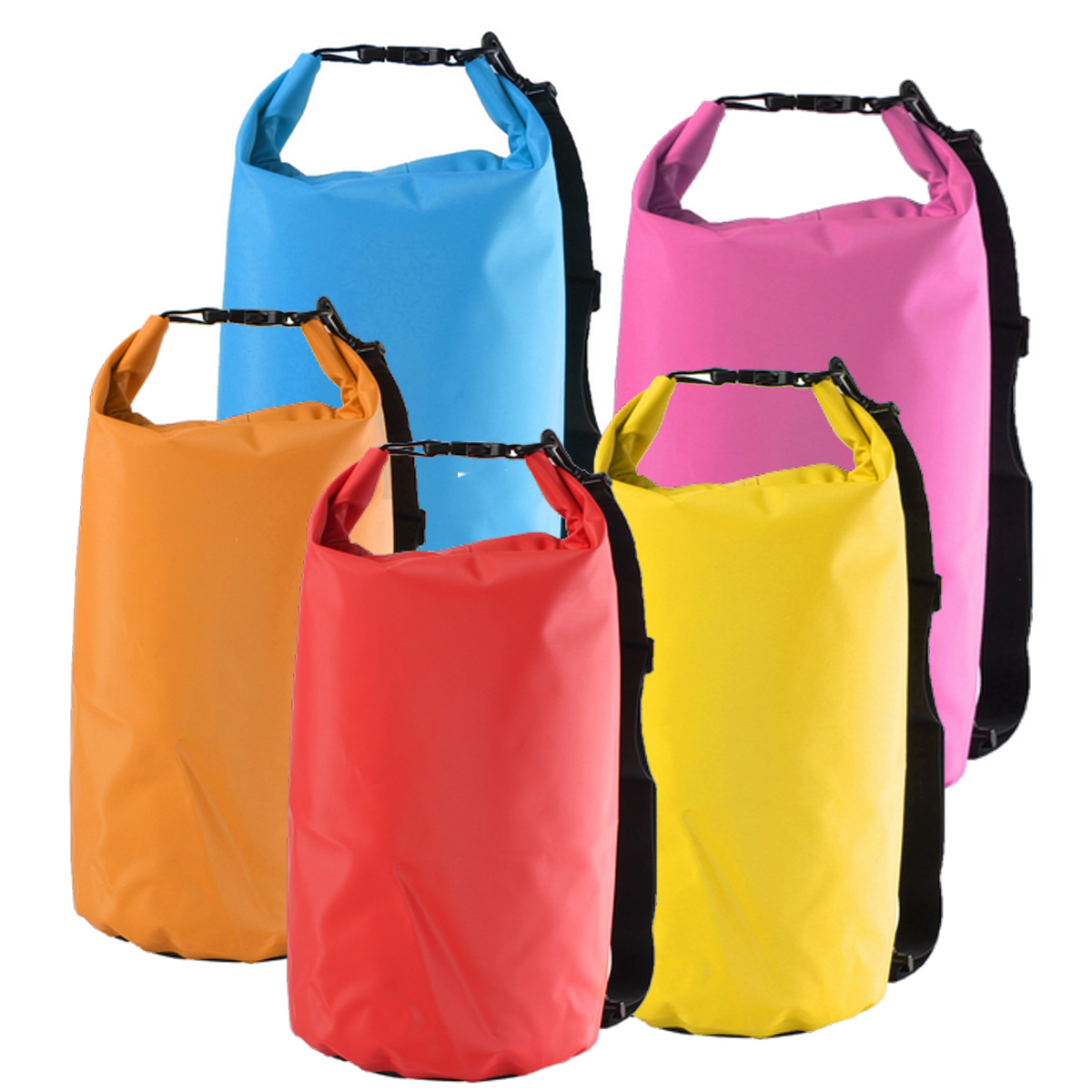 15L Waterproof Dry Bag Sack For Camping Hiking Canoe Kayak ...
