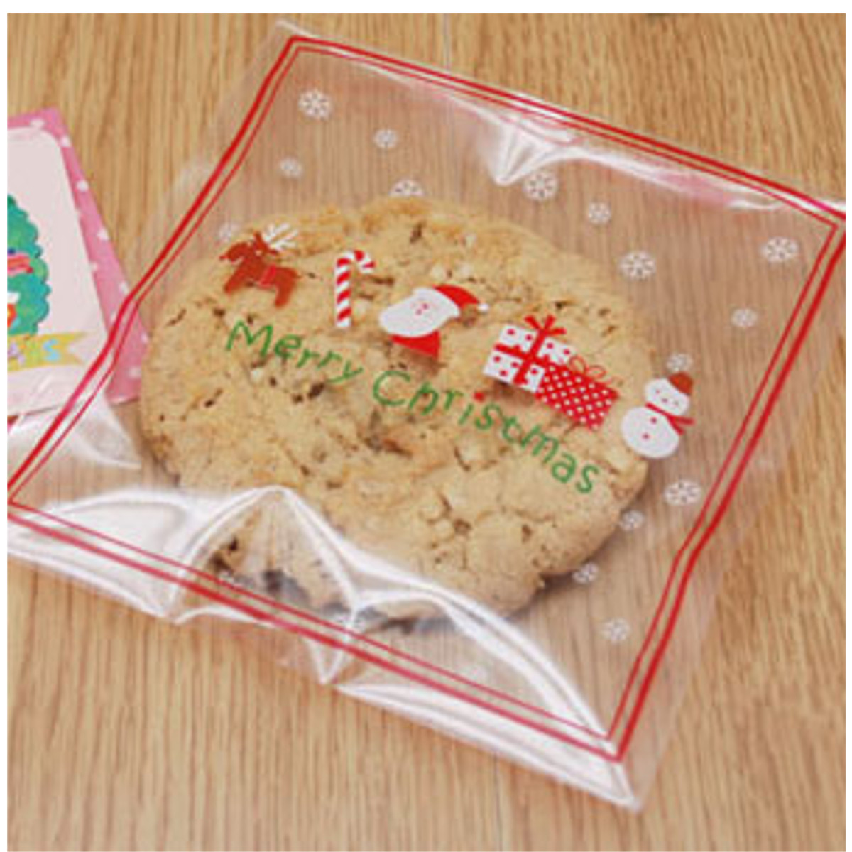 Pcs christmas biscuit candy gift cookie sweet present