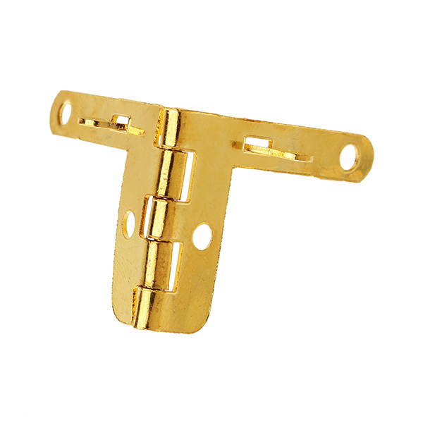 4 Pcs Metal Box Quadrant Hinge Wooden Box Support Hinge