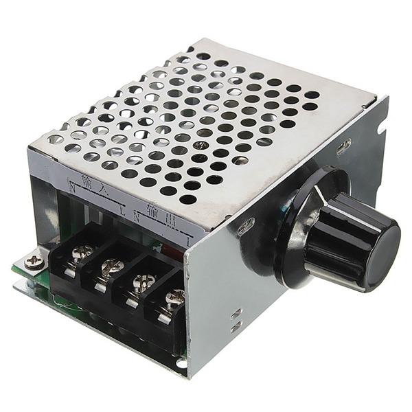 4000w 220v ac scr voltage regulator dimmer electric motor for Ac motor speed control methods