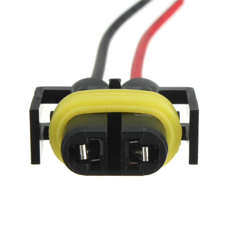 h8 h11 female adapter wiring harness sockets wire for