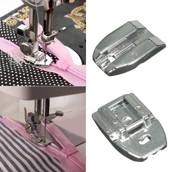 sewing machine invisible zipper foot