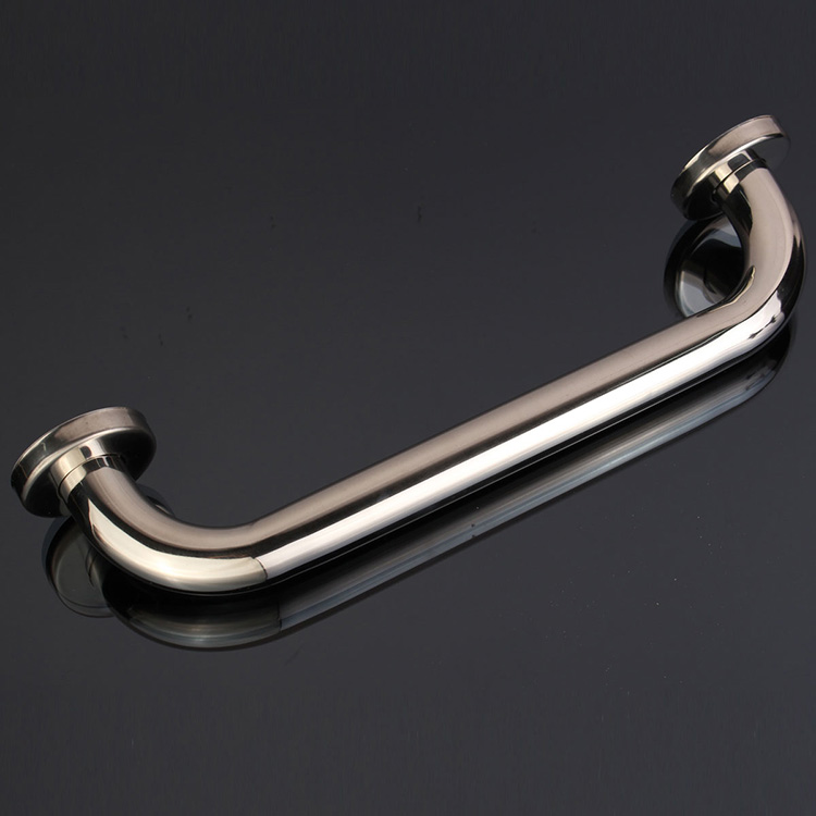 Stainless Steel Bathroom Wall Grab Bar Safety Grip Handle Towel ...