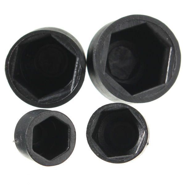 10pcs Waterproof Dome Nylon Hex Nut Bolt Cover Cap