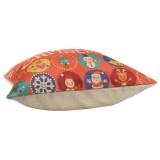 Christmas Linen Cotton Throw Pillow Case Home Sofa Car Square Cushion Cover