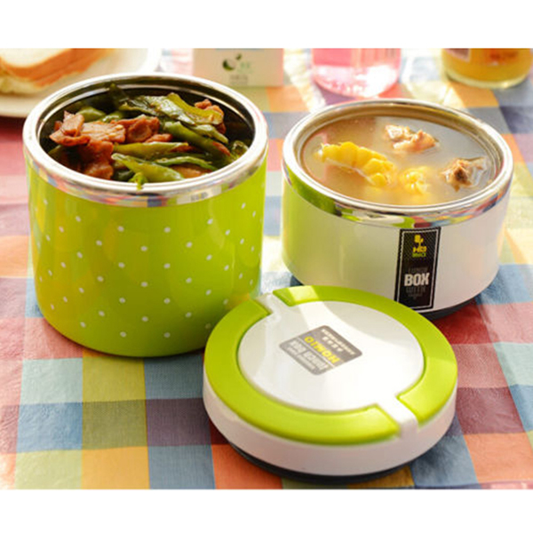 Stainless Steel Insulation Lunch Box Colorful Food ...