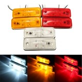 4 LED Side Marker Light Indicator Lamp for Bus Truck Trailer Lorry Caravan 12~24V E8