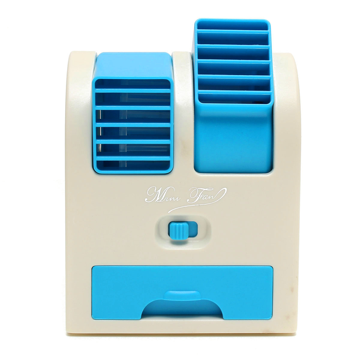 Fan Cooling Portable Desktop Notebook Dual Bladeless Air Conditioner #043A69