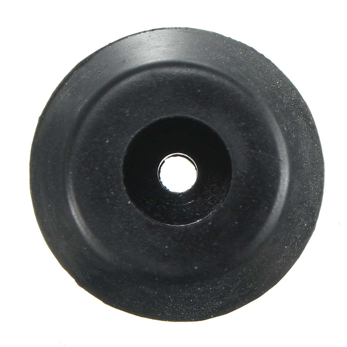12pcs 25x20x15mm Black Rubber Protector For Chair Leg