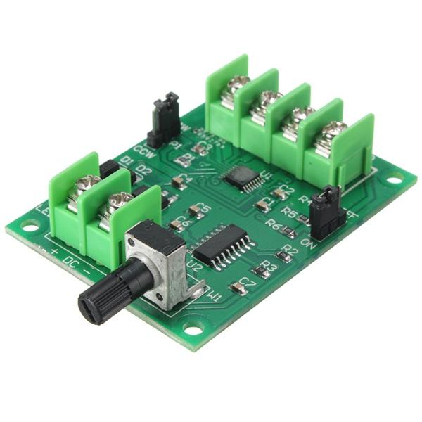 5v 12v Dc Brushless Motor Driver Board Controller For Hard