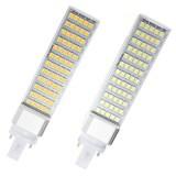 G23 12W 60 SMD 5050 LED Light Non-Dimmable Warm White/White Bulb 85-265V