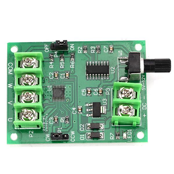 Brushless dc motor drive board controller 5v 12v no hall for Brushless dc motor drive