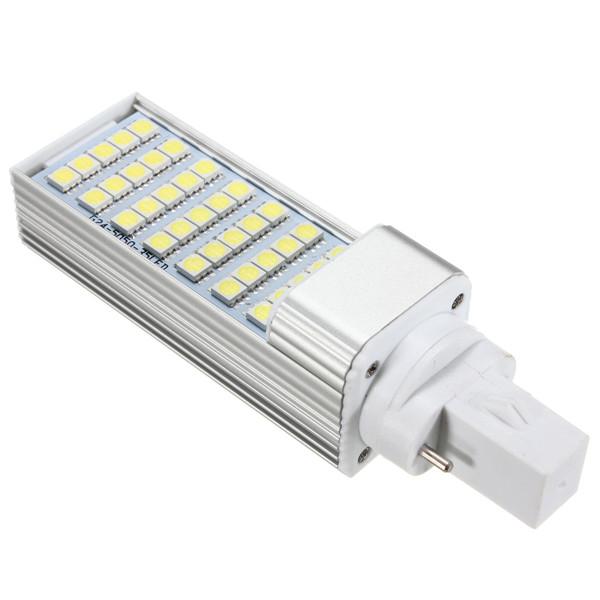 G23 7W 35 SMD 5050 LED Light Non-Dimmable Warm White//White Bulb 85-265V