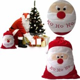 Large Christams Xmas Santa Clau Gift Candy Stocking Bag