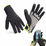 Waterproof Full Finger Gloves Touch Screen Winter Motorcyle Cycling Warm Windproof
