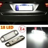 2x LED Licence Number Plate Light For Volvo C70 S40 S60 V50 V60 V70 XC60 XC90