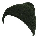 Unisex  Men Women Stripe Knitted Slouch Beanie Hat  Pure Color Elastic Winter Warm Cap