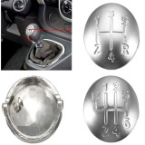 Gear Shift Knob Cap Cover Insert 5/6 Speed for Renault Clio Megane Scenic Twingo