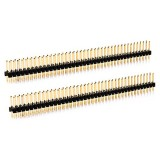 5PCS 2 Row 20 Pin 2.54mm Pitch Straight Pin Header