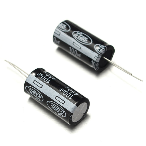10pcs 100uf 450v 105c Radial Electrolytic Capacitor