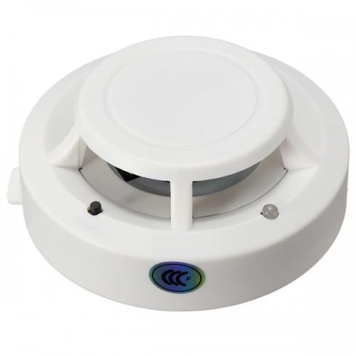 Sensor Fire Alarm Sound : Wireless smoke detector home security fire alarm