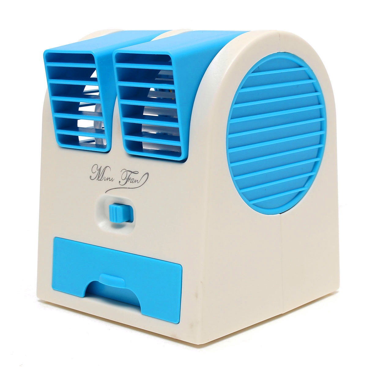 873ab65d5 Mini Summer Small USB Switch Battery Cold Fan Cooling Portable Desktop  Notebook Dual Bladeless Air Conditioner.  d7df3389-e920-4778-9177-5d741806319a.jpg ...