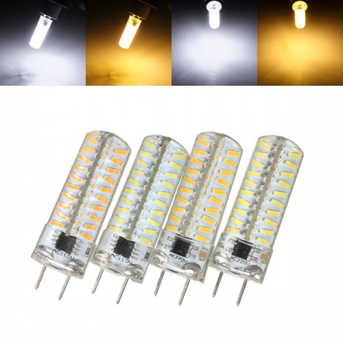 g8 dimmable led bulb 5w smd 4014 80 pure white warm white. Black Bedroom Furniture Sets. Home Design Ideas