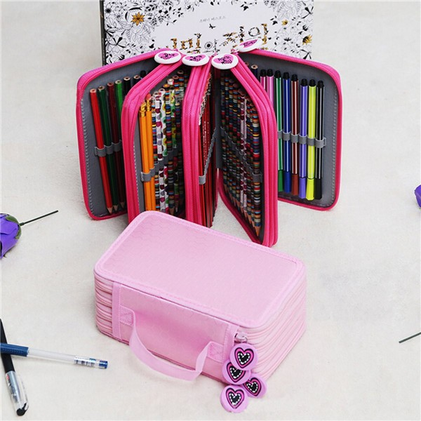 Pen Pencil Case Cosmetic Travel Cosmetic Brush Makeup