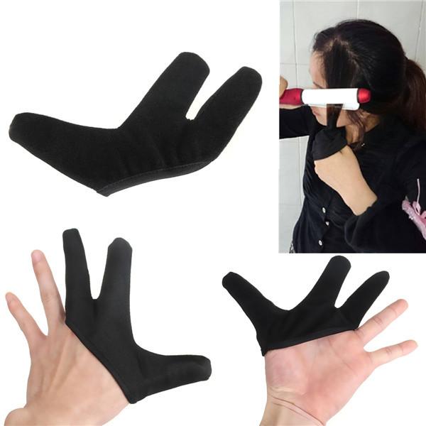 Heat Resistant Finger Glove For Hair Straightener