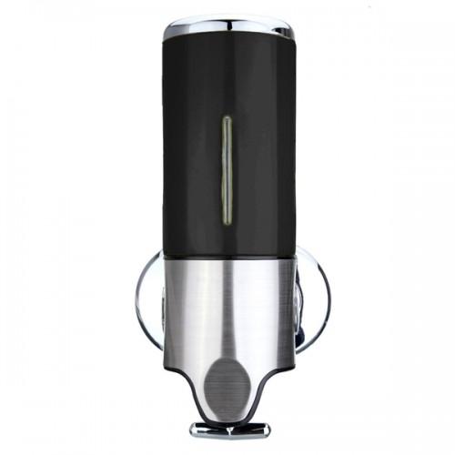 500ml Wall Mounted Bathroom Hung Shampoo Soap Dispenser Liquid Pump Bottle