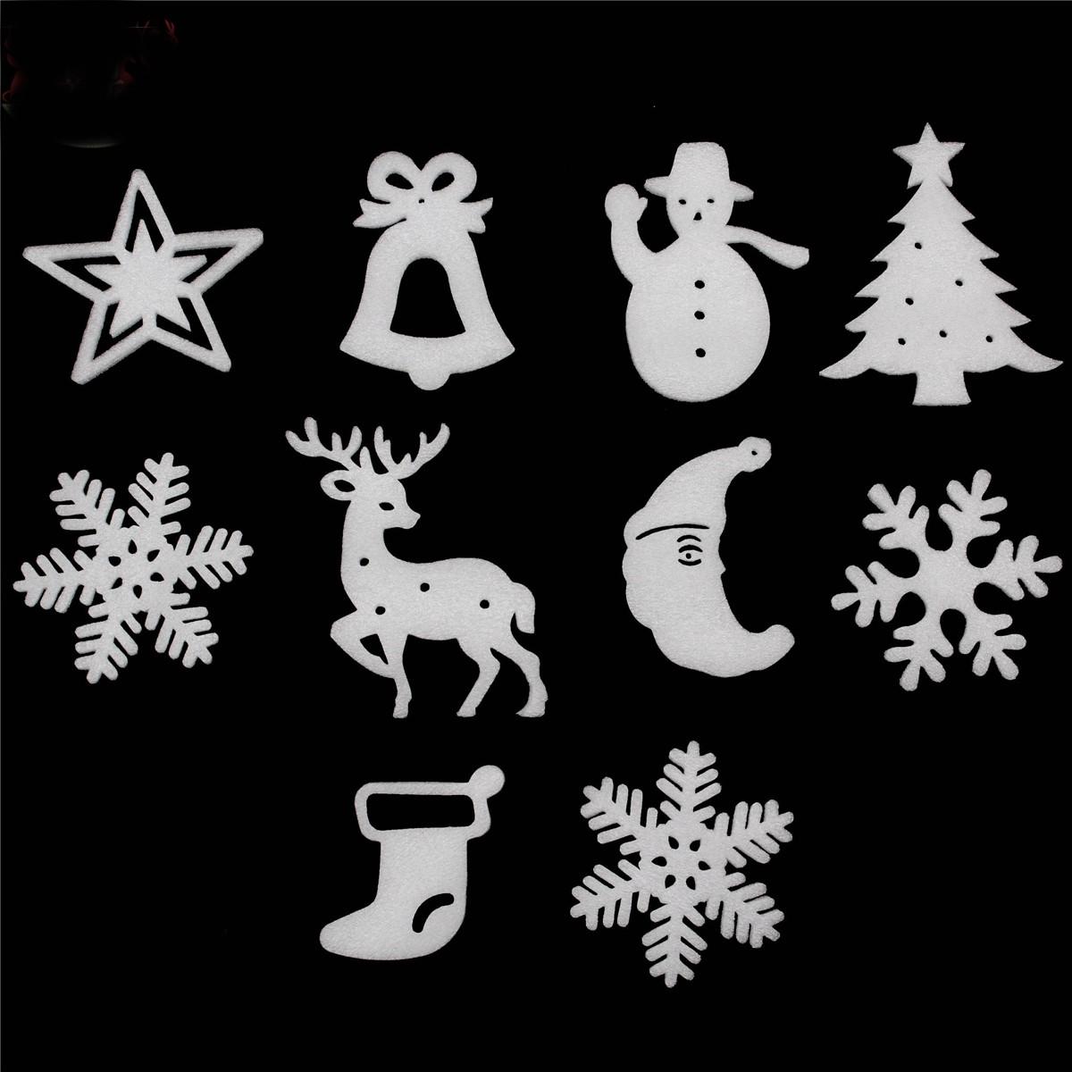 10pcs Christmas Xmas Wall Hanging Decoration Snowman Santa Clau Snowman Christmas Party Decoration