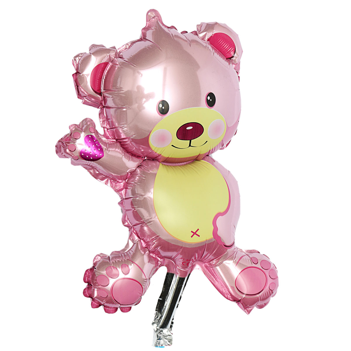 Baby girl boy birthday party balloon stroller foot bear for Balloon decoration for baby girl