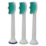 3PCS Universal Sonic Replacement Toothbrush Head For Philips Sonicare Proresuits