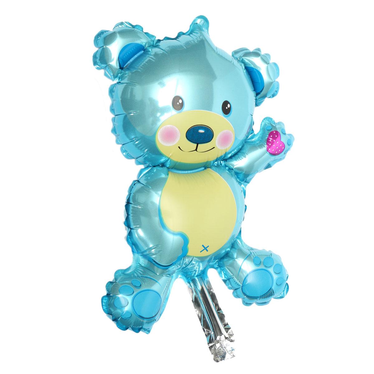 Baby Girl Boy Birthday Party Balloon Stroller Foot Bear Balloons Party ...