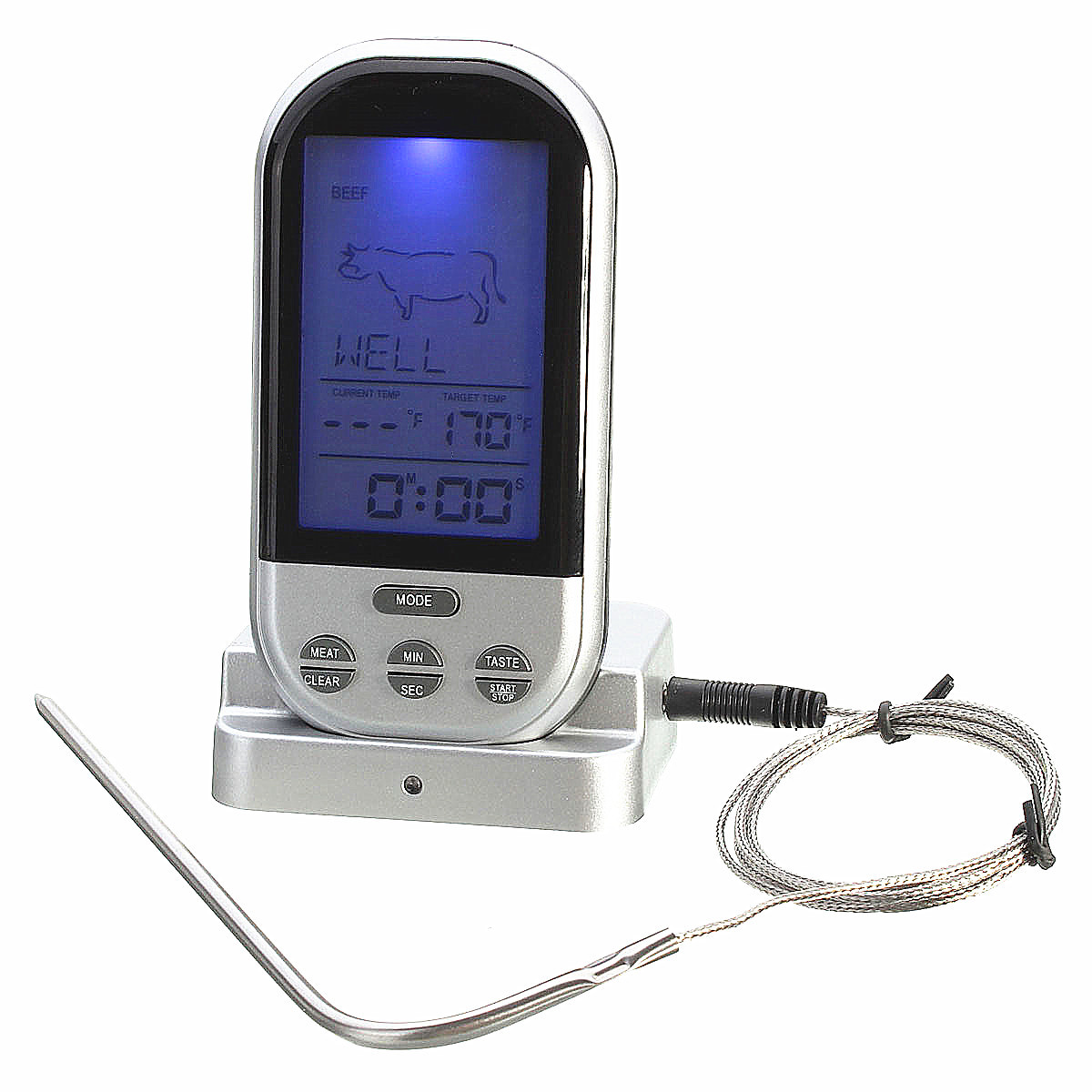 Wireless Remote Control Food Meat Outdoor Bbq Thermometer Home Digital Circuit Kitchen Cooking Oven