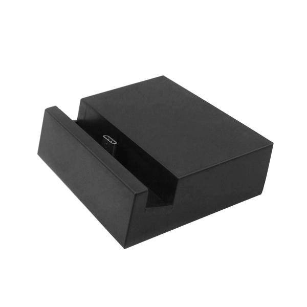 2 in 1 USB 3.1 Type-c Sync Data / Charging Dock Charger for Letv Le 1s, Letv Le Max, Letv Le 1 Pro, Google Nexus 6p / Nexus 5X, Xiaomi 4c, Meizu pro 5, Microsoft Lumia 950 / 950 XL (Black)