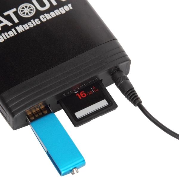 Yatour Yt M06 Digital Music Changer With Volkswagen 12 Pin