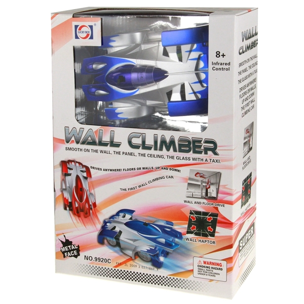 Superior Cool Infrared Control Toy Car Remote Control RC Wall Climber ...