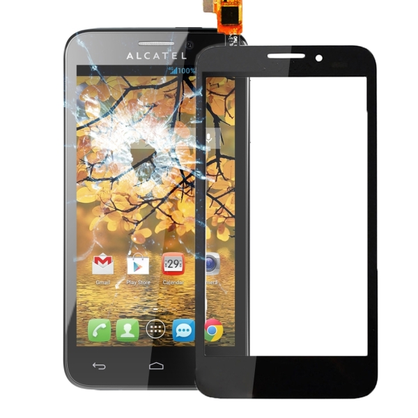 Touch Screen Replacement for Alcatel One Touch Fierce / 7024 (Black)