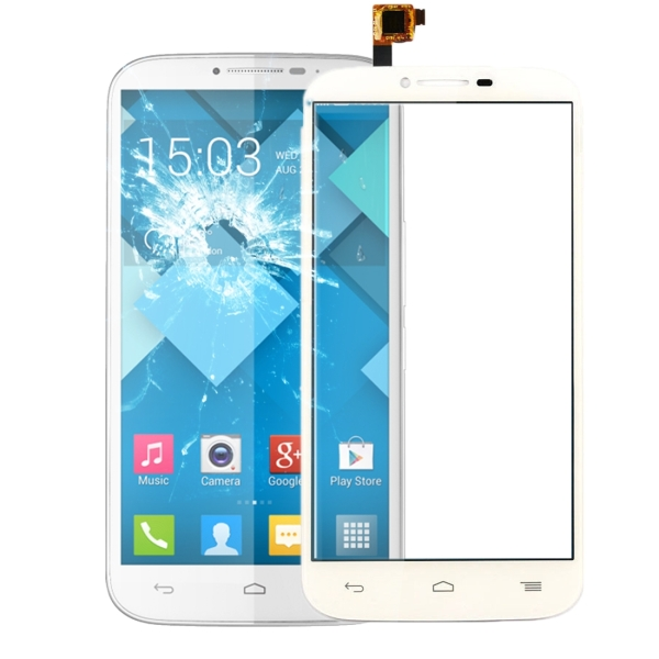 Touch Screen Replacement for Alcatel One Touch Pop C9 / 7047 (White