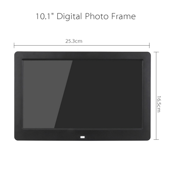 10.1 inch HD Wide Screen Digital Photo Frame with Holder