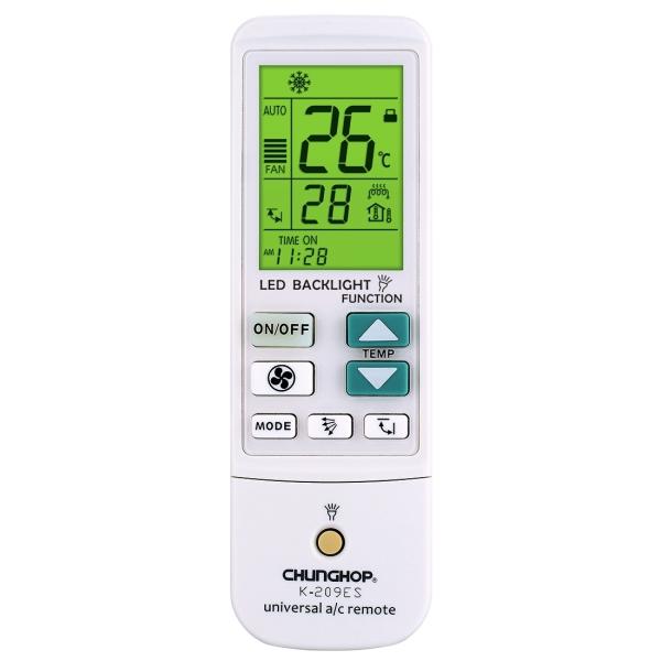 K 209es Universal Air Conditioner Remote Control Support