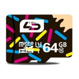 LD 64GB High Speed Class 10 TF/Micro SDHC UHS-1 (U1) Memory Card