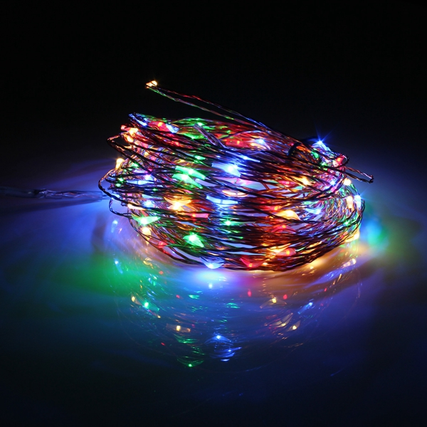 Copper String Lights Solar : 20M 200 LED Solar Powered Copper Wire String Fairy Light Xmas Party Decor Alex NLD