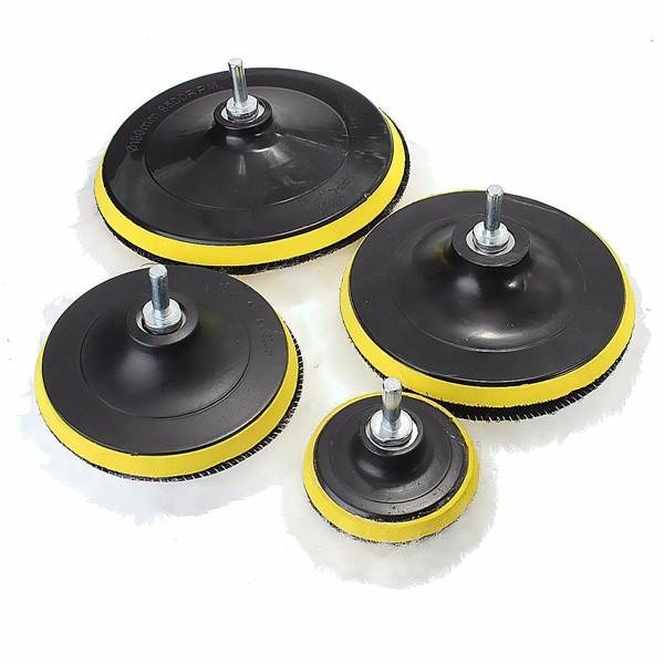 1x Sponge Cone Metal Polishing Foam Pad Wool Buffing: 7pcs 3/5/6/7 Inch Sponge Polishing Waxing Buffing Pads Kit