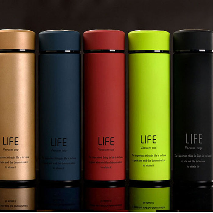 Steel Flask Mug Thermos 500ml Bottle Cup Fashional Vacuum Stainless Travel Gift K1u3Jc5TlF
