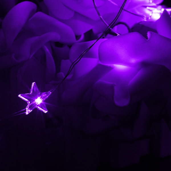 3M 30 LED Battery Powered Star String Fairy Light For Christmas Party Weddinng Decor Alex NLD