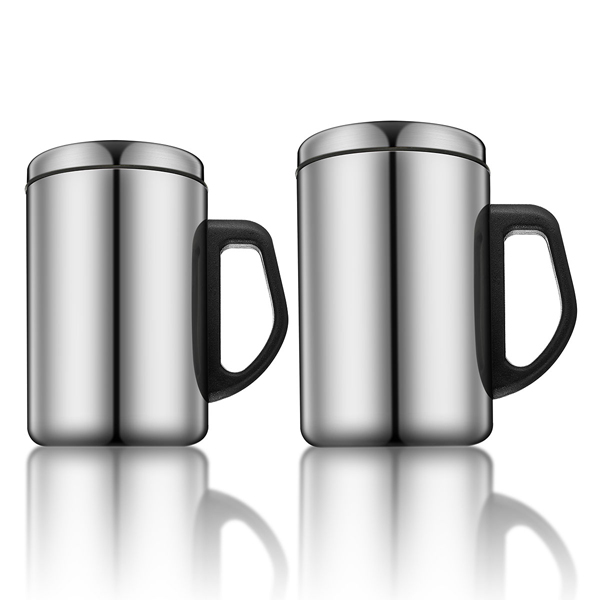 stainless steel insulated tea cup thermal coffee mug. Black Bedroom Furniture Sets. Home Design Ideas