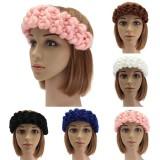 Vintage Handmade Knitting Hairband Head Wrap Hair accessories Winter Autumn 5 Colors