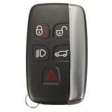 5 Button Remote FOB Key Case Shell for LAND ROVER LR4 Range Rover Sport Evoque